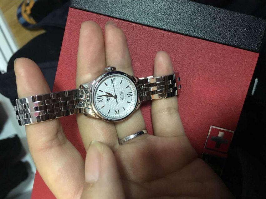 天梭T41.1.183.33手表【表友晒单作业】第一次在网...