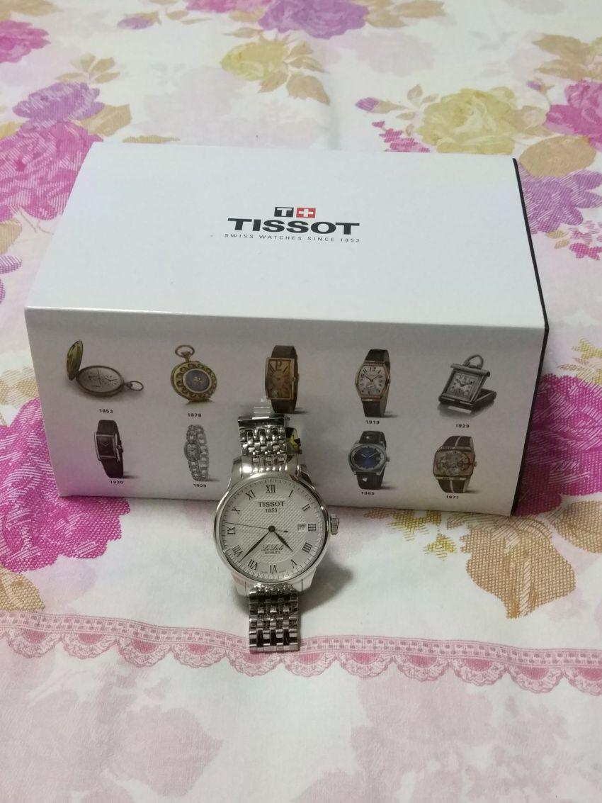 天梭T41.1.483.33手表【表友晒单作业】一直纠结要...