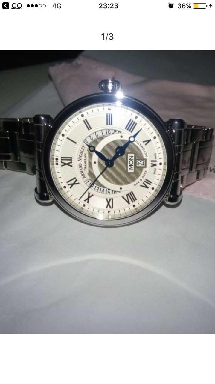 艾美达A420AAA-AG-P974MR2手表【表友晒单作业】表把突出的...