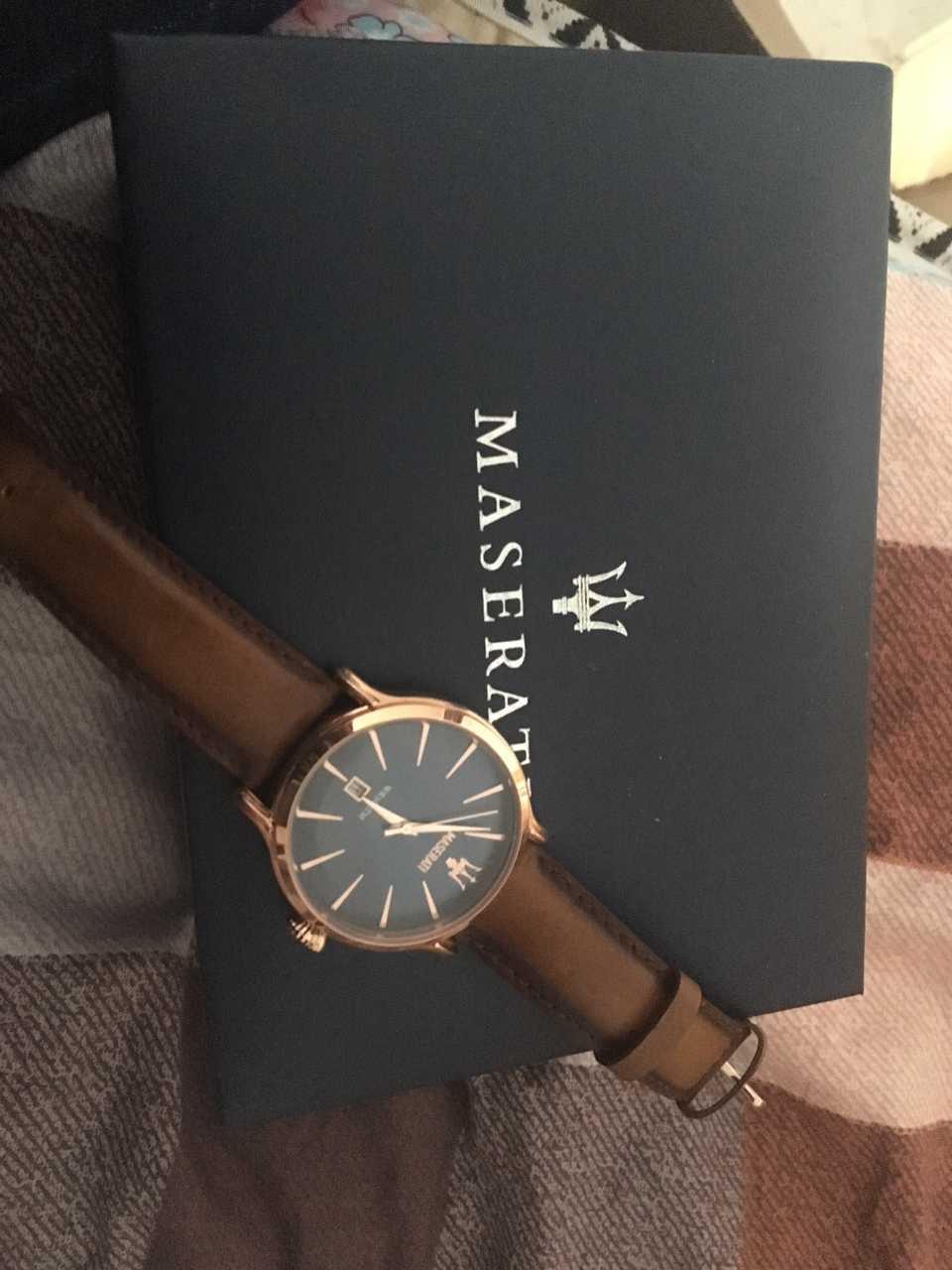玛莎拉蒂R8851118001手表【表友晒单作业】这是我第一...