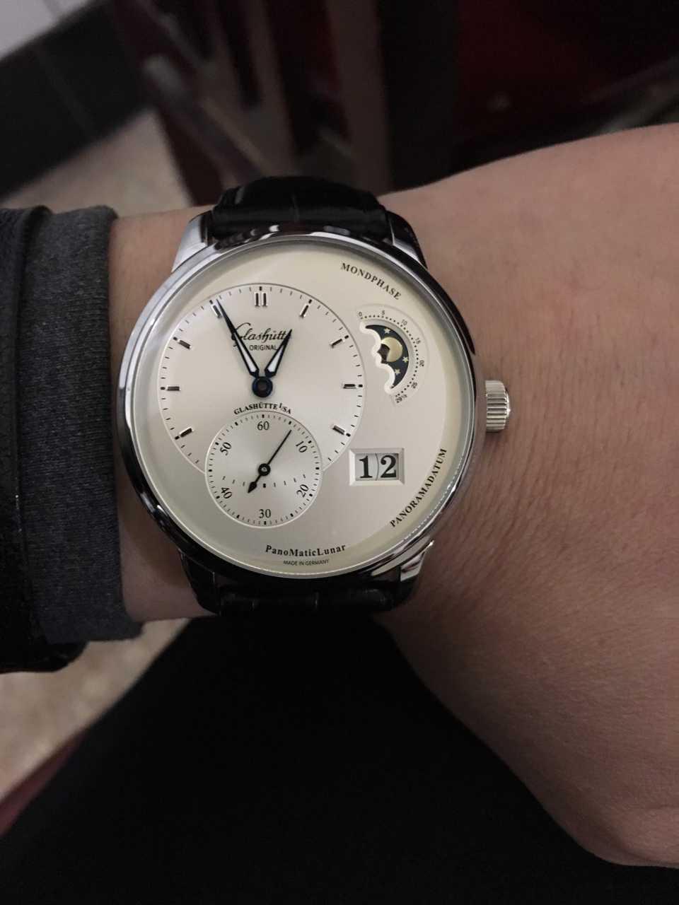 格拉苏蒂∙原创90-02-42-32-05手表【表友晒单作业】非常漂亮,...