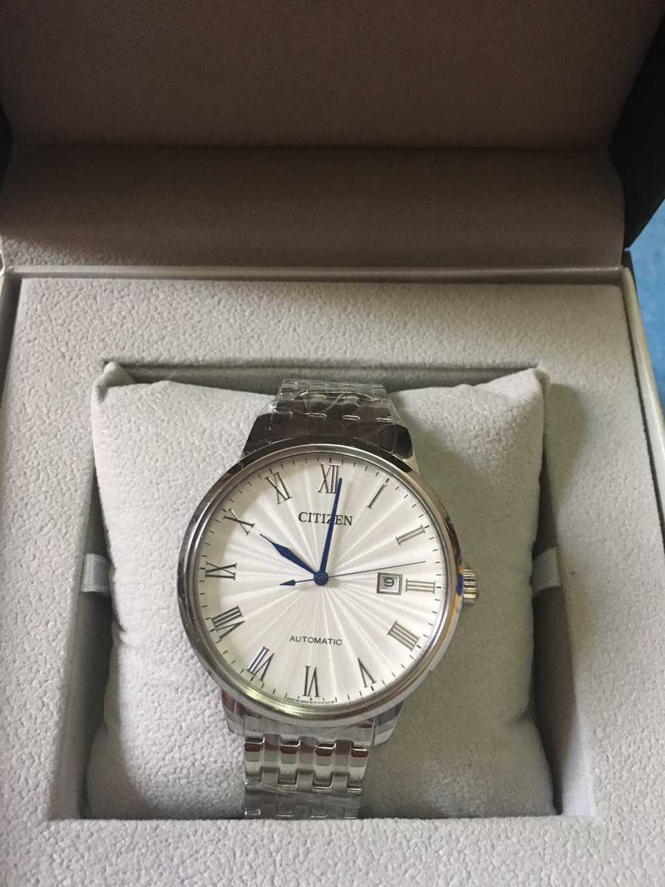 西铁城NJ0080-50A手表【表友晒单作业】盯了很久这...