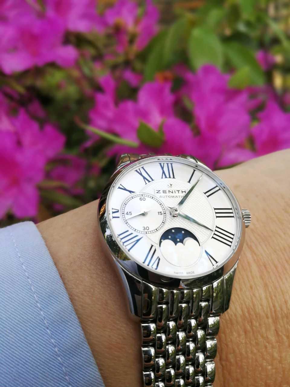 真力时03.2310.692/02.M2310手表【表友晒单作业】在瑞士因特...
