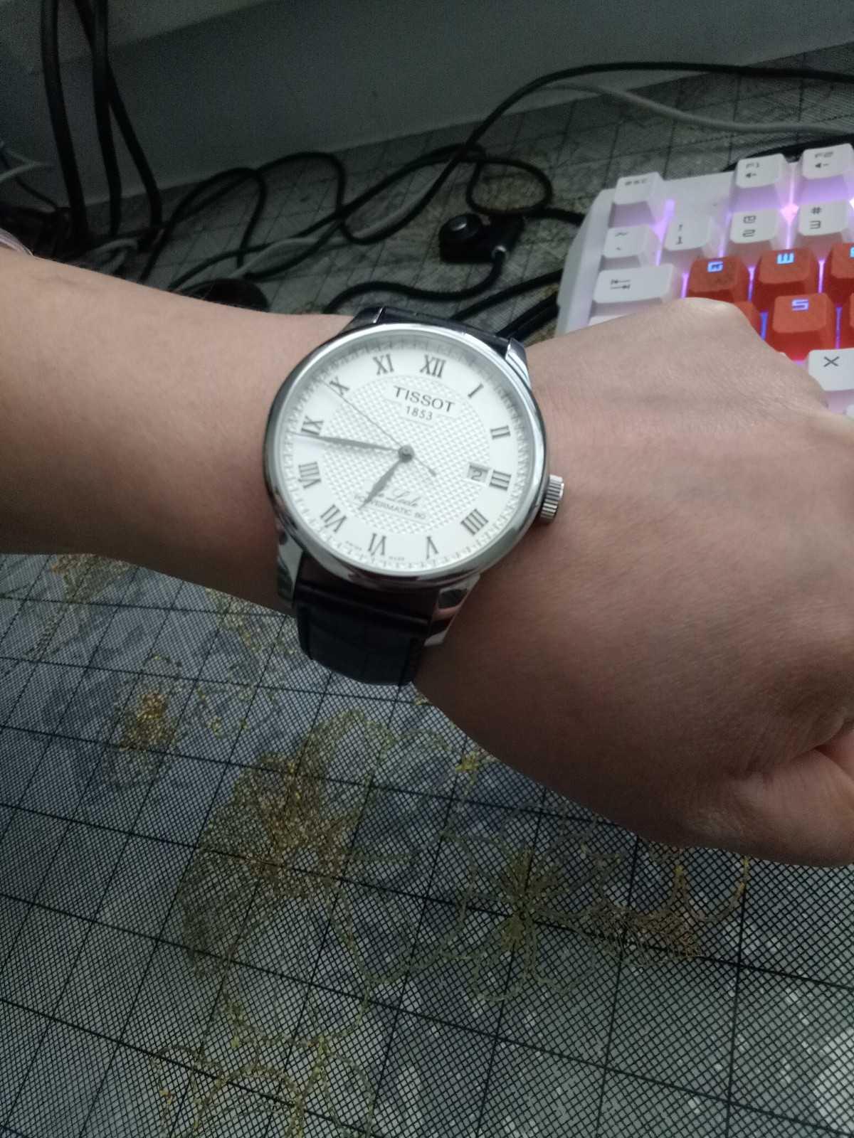 天梭T006.407.16.033.00手表【表友晒单作业】第一次在万...