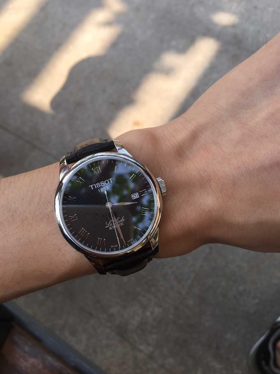 天梭T41.1.423.53手表【表友晒单作业】用了一段时...