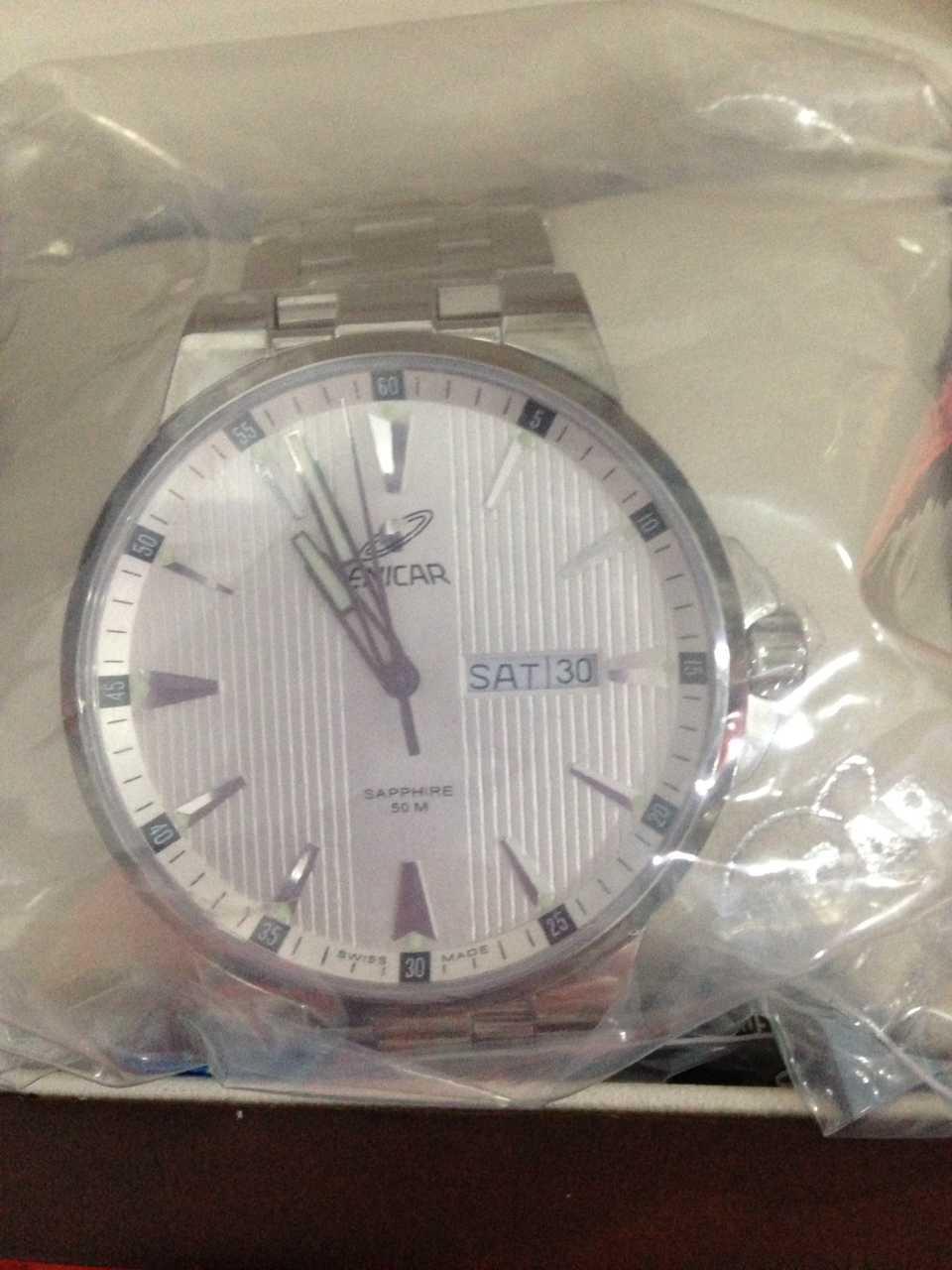 英纳格955/30/283AVA手表【表友晒单作业】第二次在万...