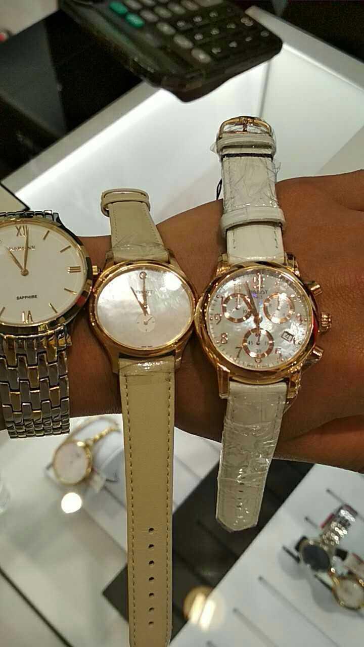 天梭T050.217.36.112.00手表【表友晒单作业】天梭的品牌...