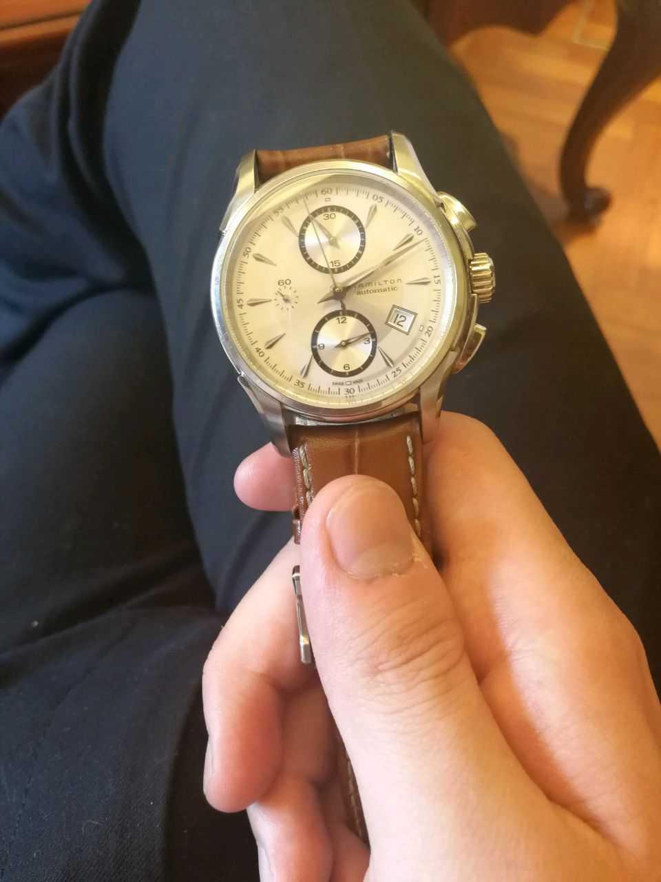 汉米尔顿H32616553手表【表友晒单作业】已经戴了一...