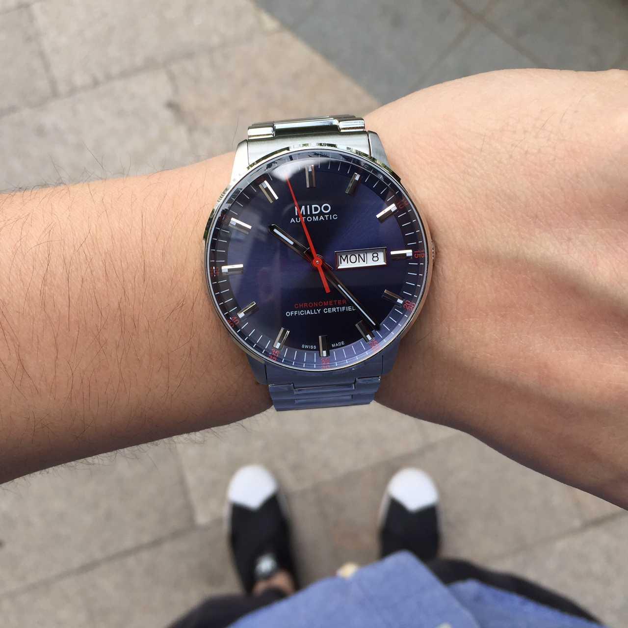美度M021.431.11.041.00手表【表友晒单作业】表很正,每...