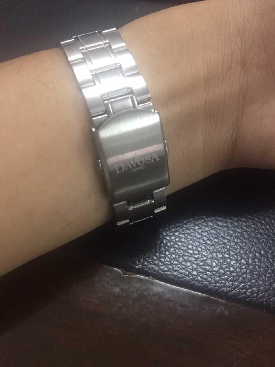 迪沃斯16346355手表【表友晒单作业】挺精致的,...