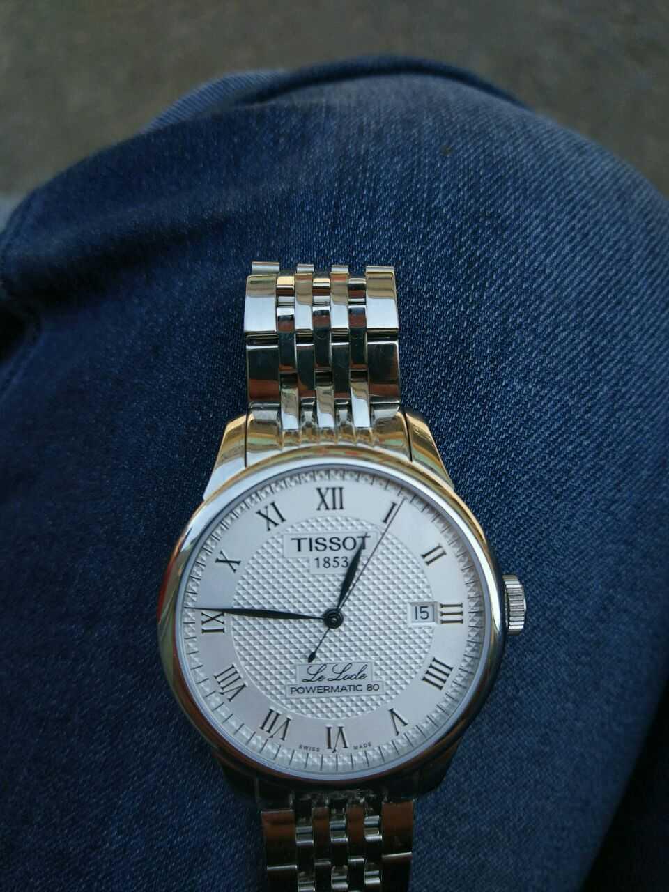 天梭T006.407.11.033.00手表【表友晒单作业】天梭这款表...