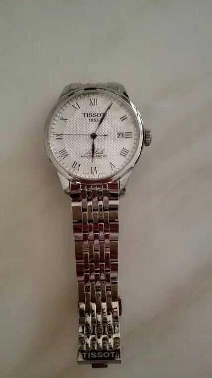 天梭T006.407.11.033.00手表【表友晒单作业】给外甥买的...