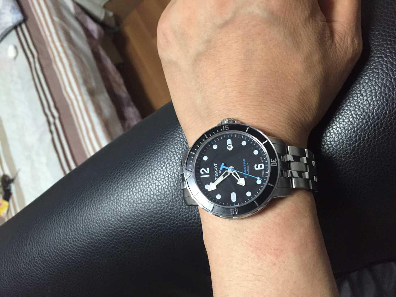 天梭T066.407.11.057.00手表【表友晒单作业】特别漂亮,...
