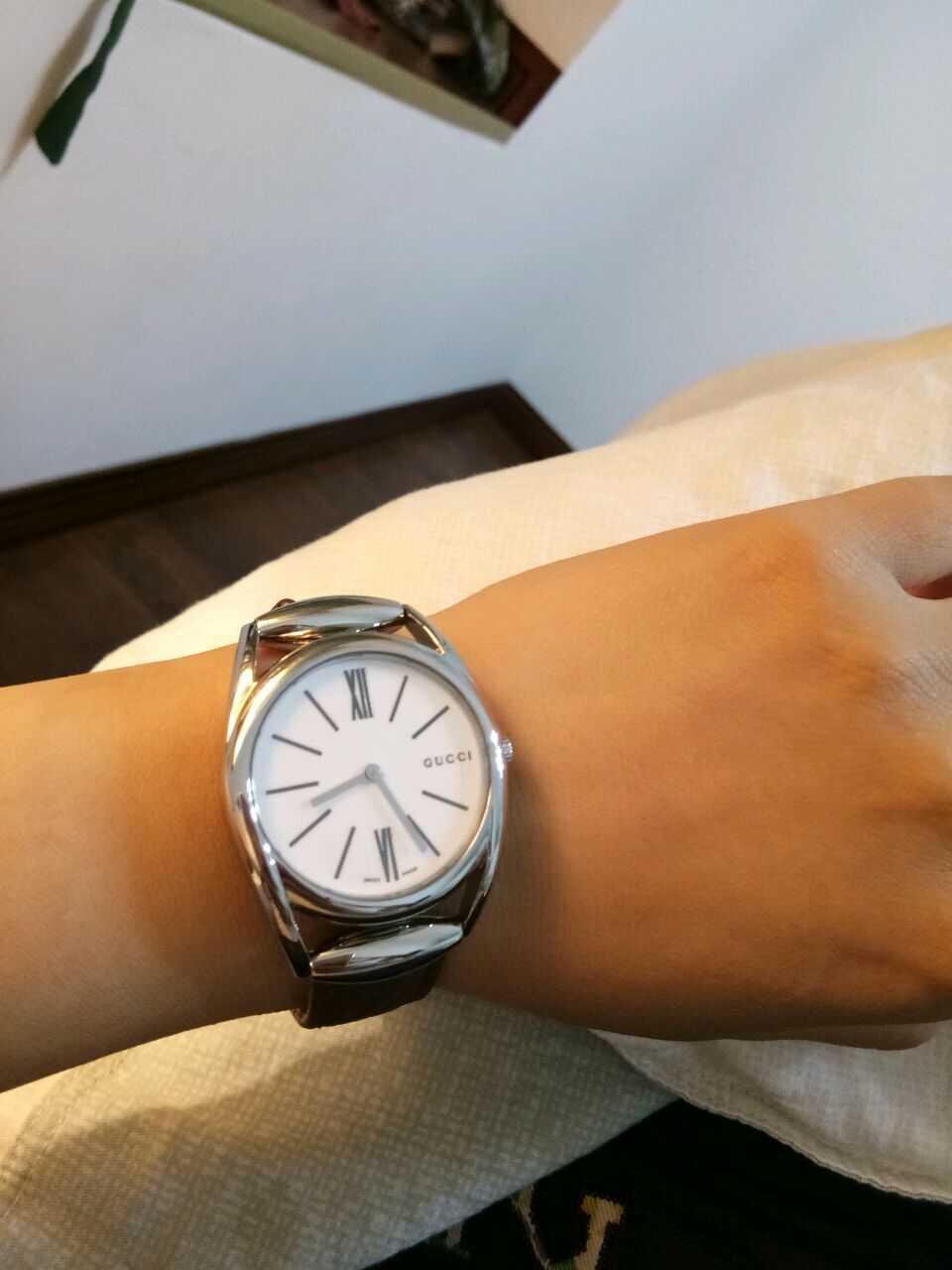 古驰YA140401手表【表友晒单作业】表面很亮·...