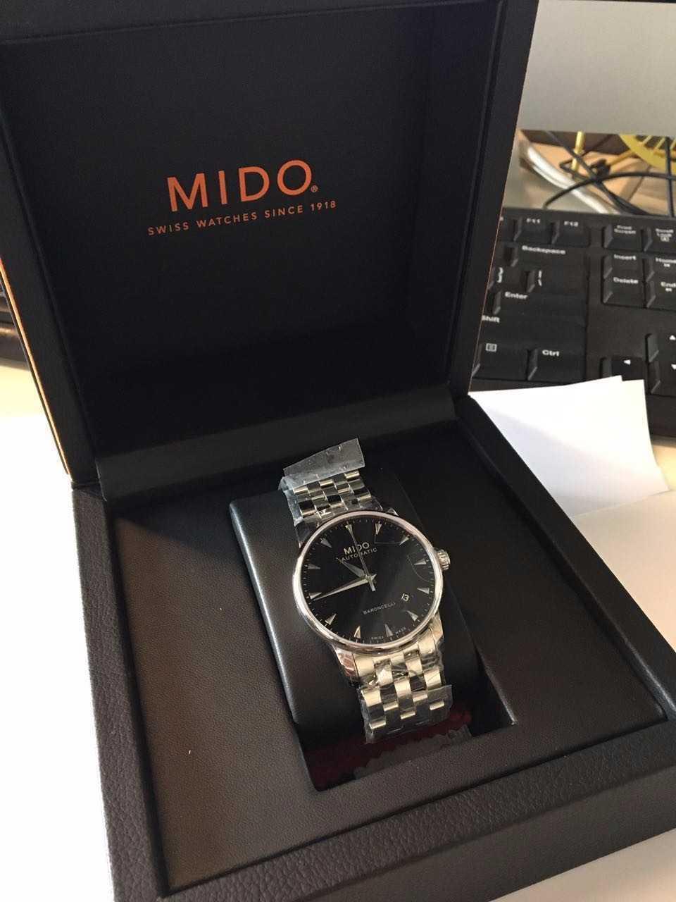 美度M8600.4.18.1手表【表友晒单作业】一次愉快的...