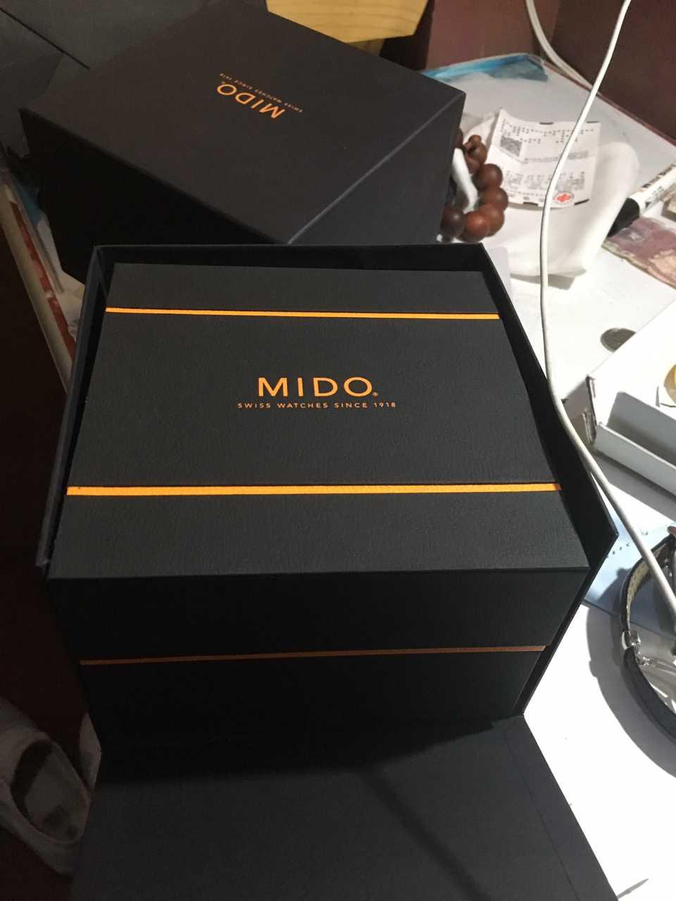 美度M8600.4.21.4手表【表友晒单作业】戴了一个星...