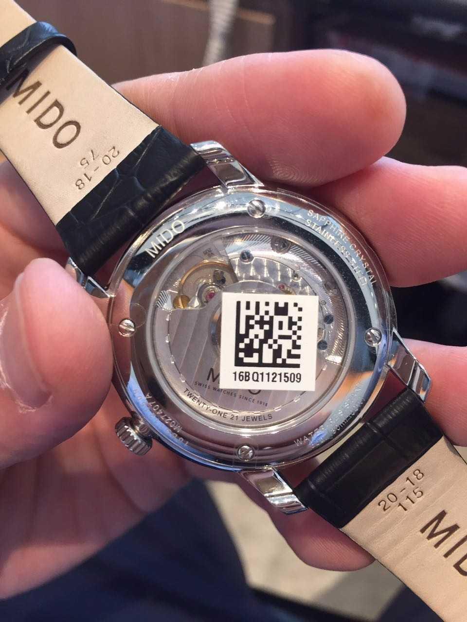 美度M027.407.16.010.00手表【表友晒单作业】帮同事买的...