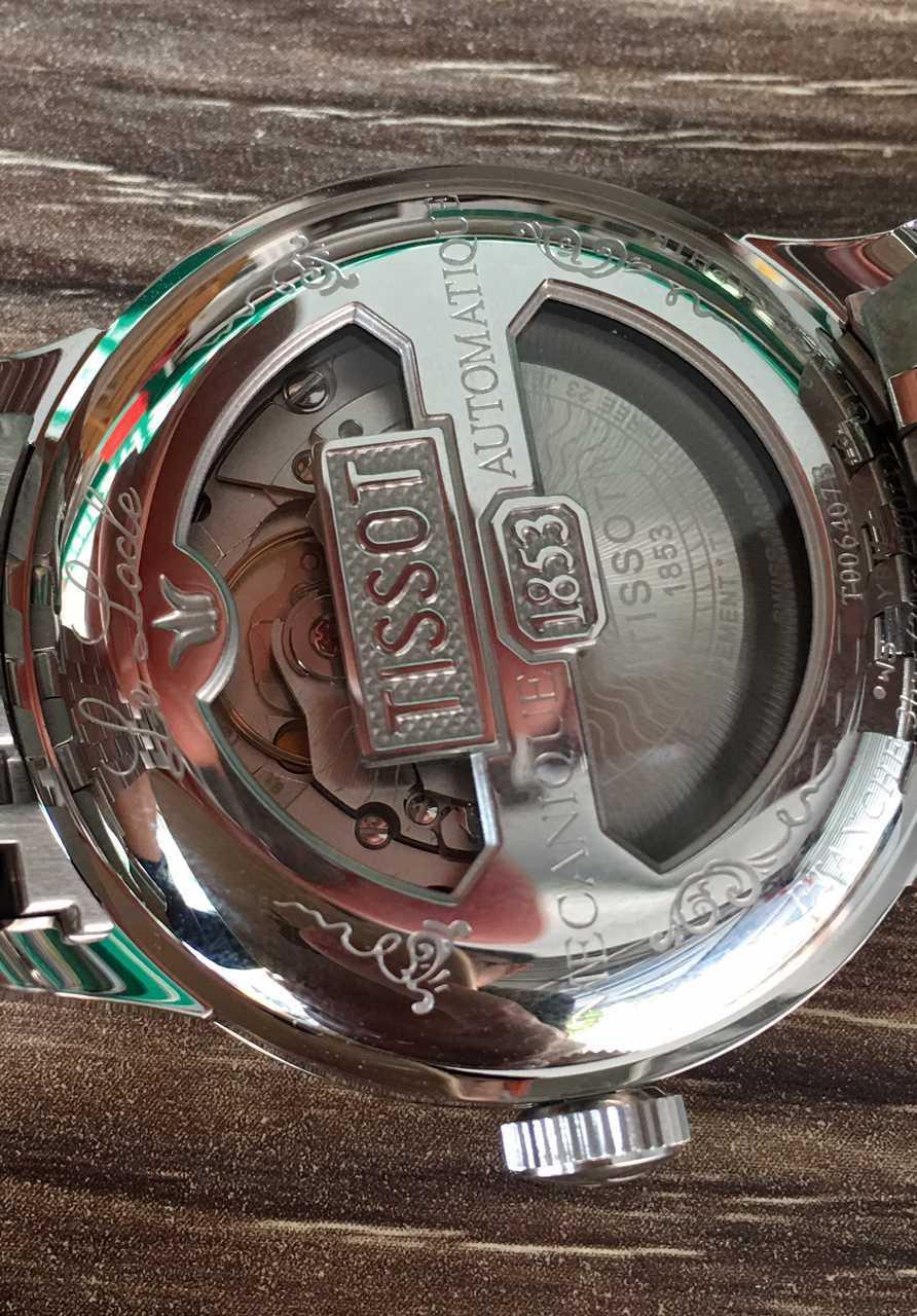 天梭T006.407.11.033.00手表【表友晒单作业】天梭力洛克...
