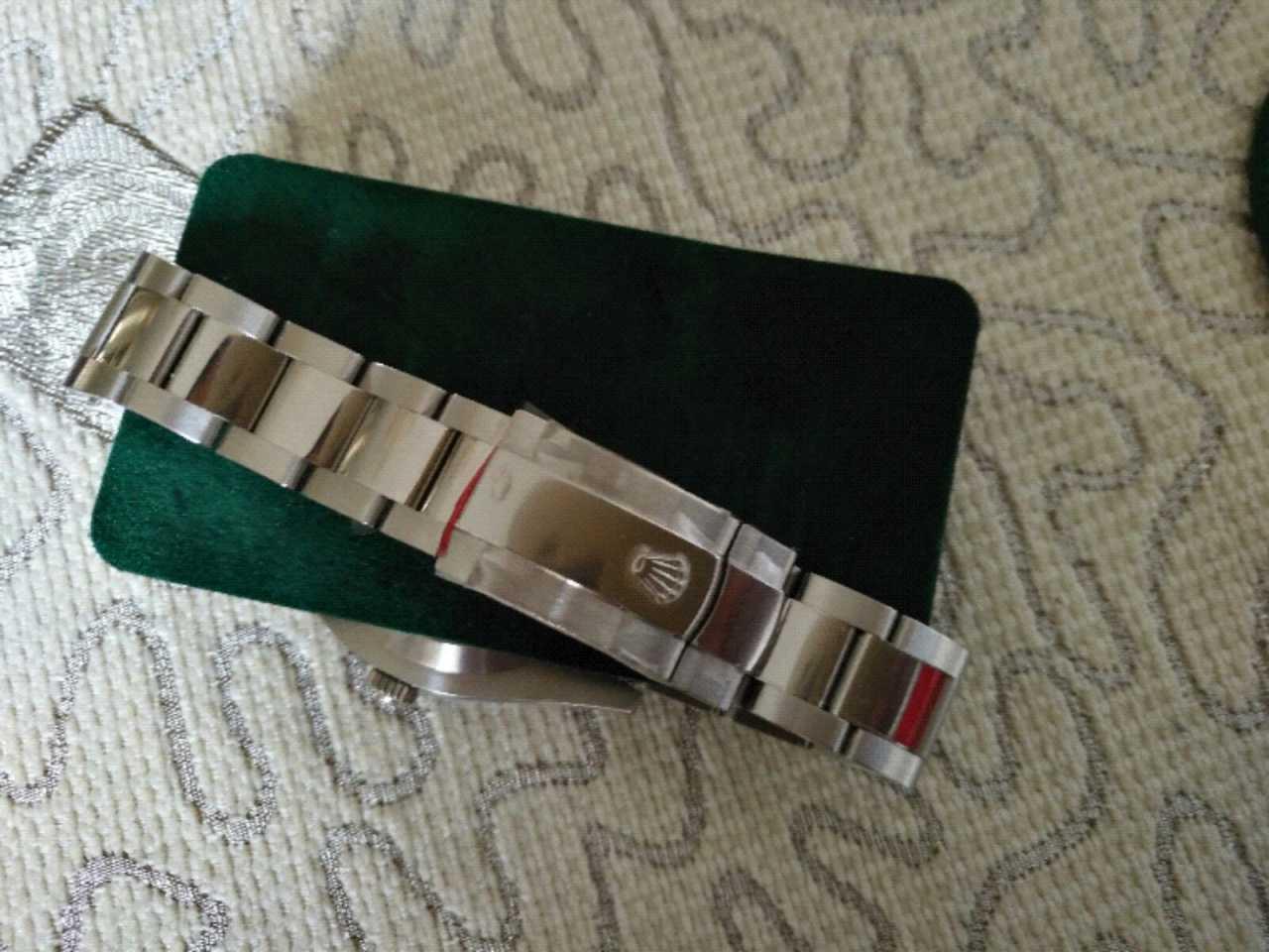 劳力士116334G-72210 灰色表盘钻石刻度手表【表友晒单作业】我于201...