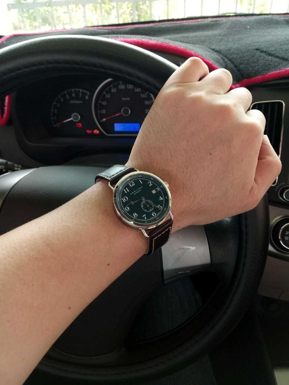汉米尔顿H78455543手表【表友晒单作业】过十天才收...