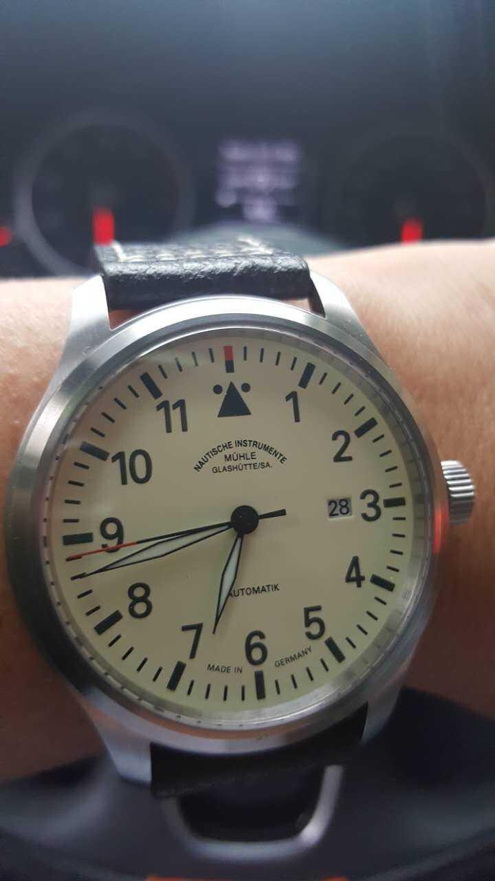 格拉苏蒂·莫勒M1-37-44-MB手表【表友晒单作业】这款表非常...