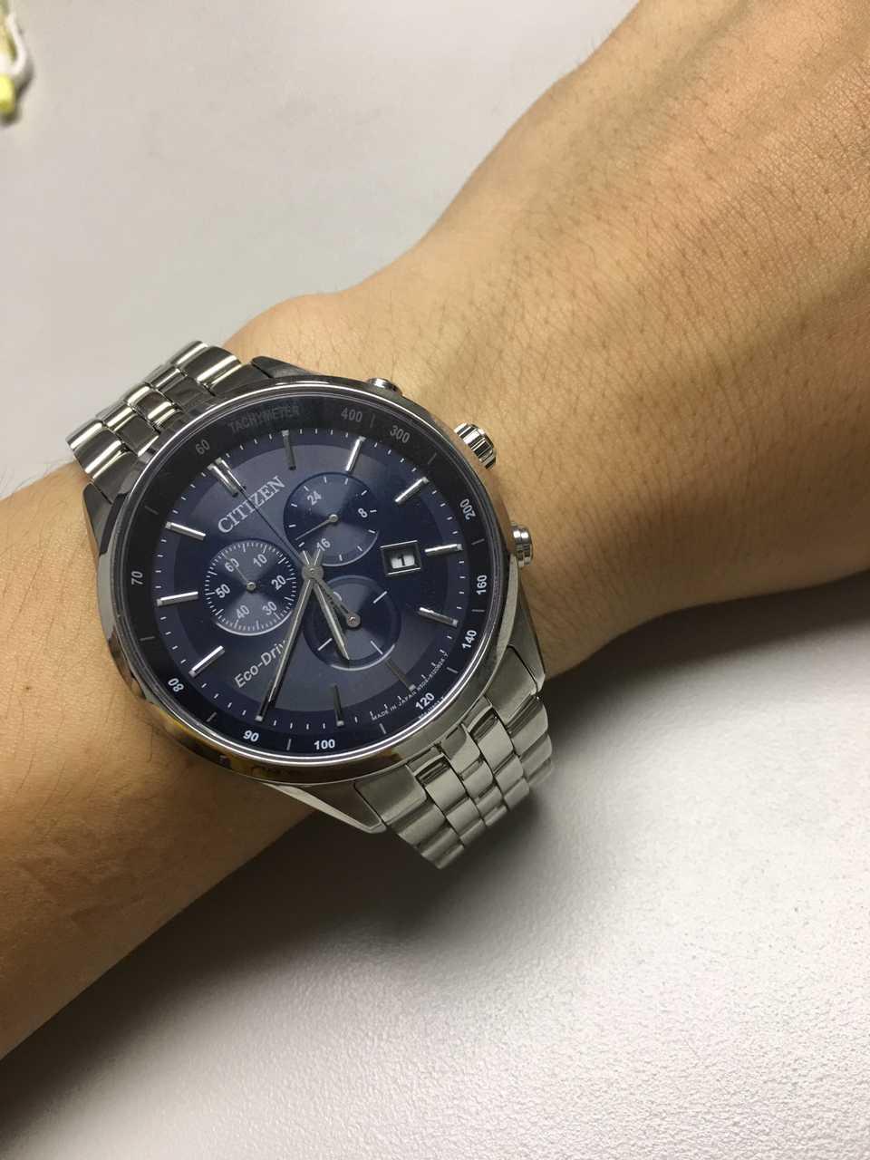 西铁城AT2140-55L手表【表友晒单作业】不错不错。...