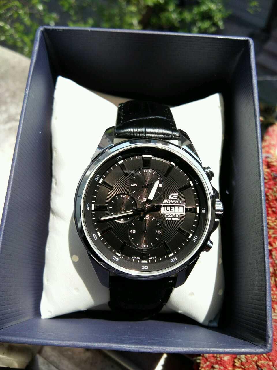 卡西欧EFB-509L-1AVUPR手表【表友晒单作业】视觉效果不...