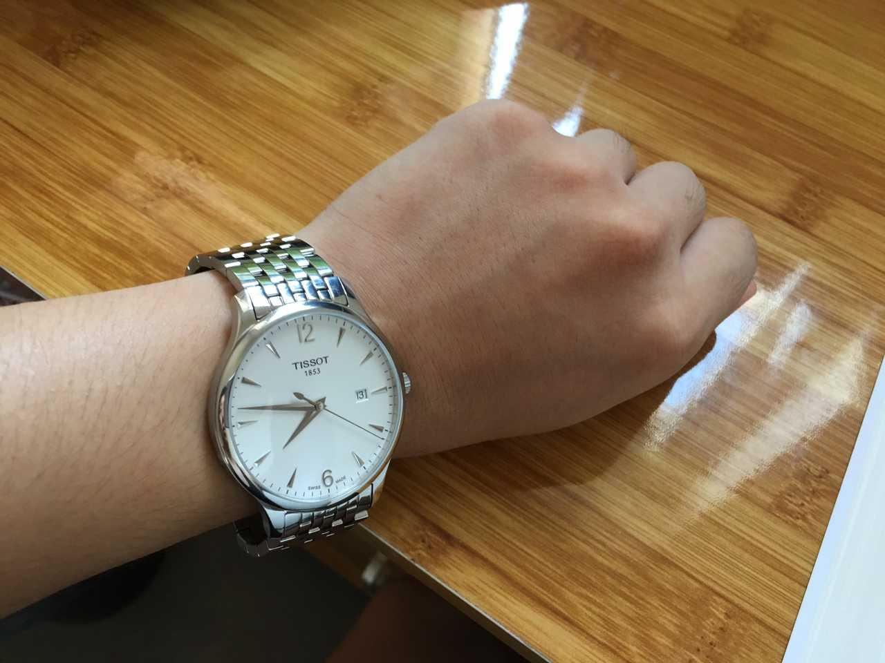 天梭T063.610.11.037.00手表【表友晒单作业】买表时其他...