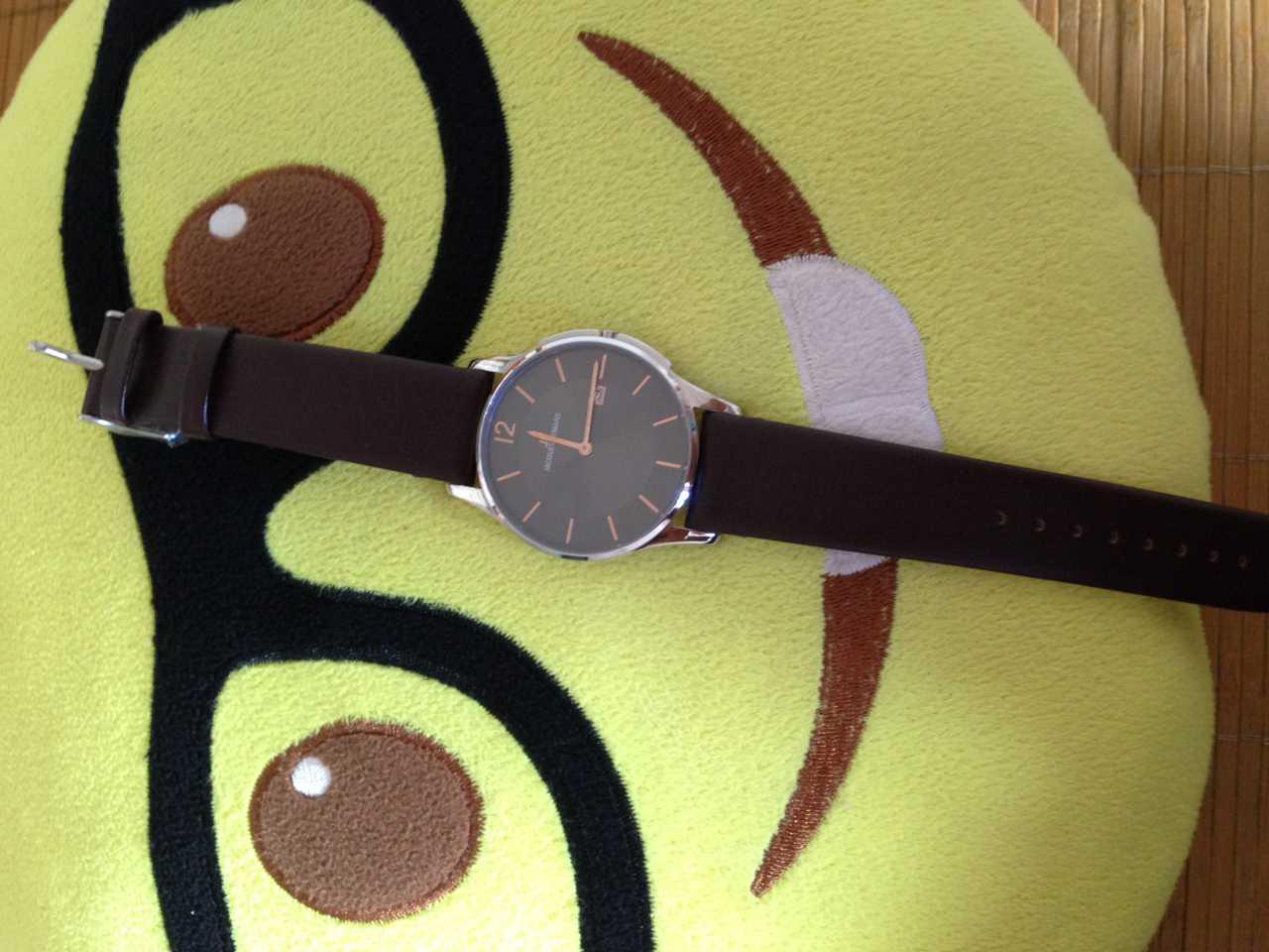 雅克利曼1-1850E手表【表友晒单作业】表带很软带...