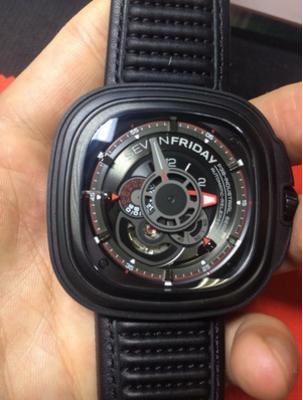 SevenFridayP3B-01手表【表友晒单作业】手表收到了...