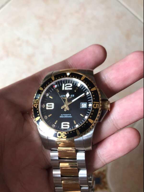 浪琴L3.640.4.96.6手表【表友晒单作业】高高家买的...
