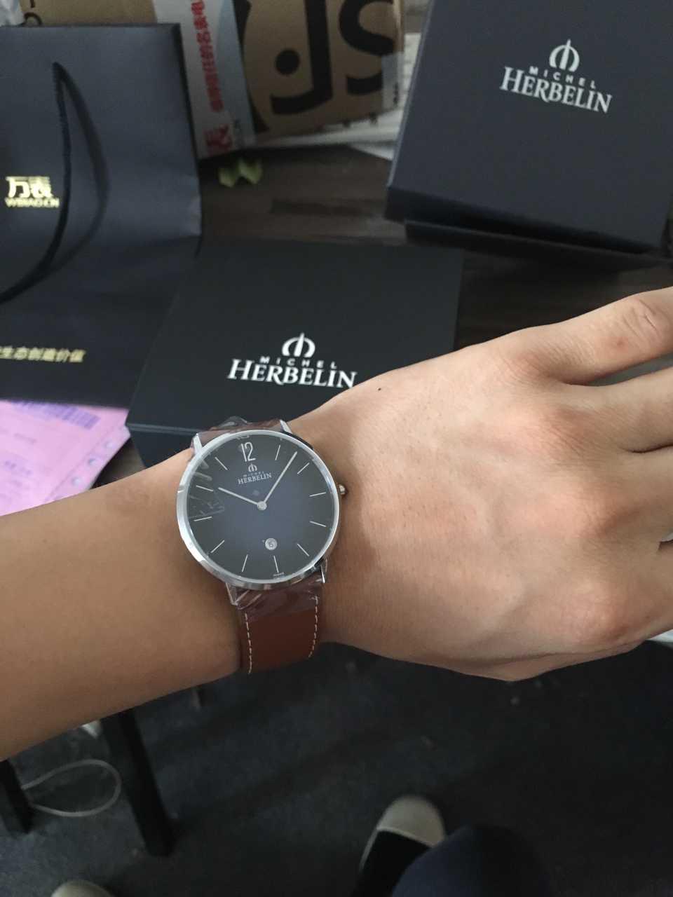 赫柏林19515/15手表【表友晒单作业】手表不错、...
