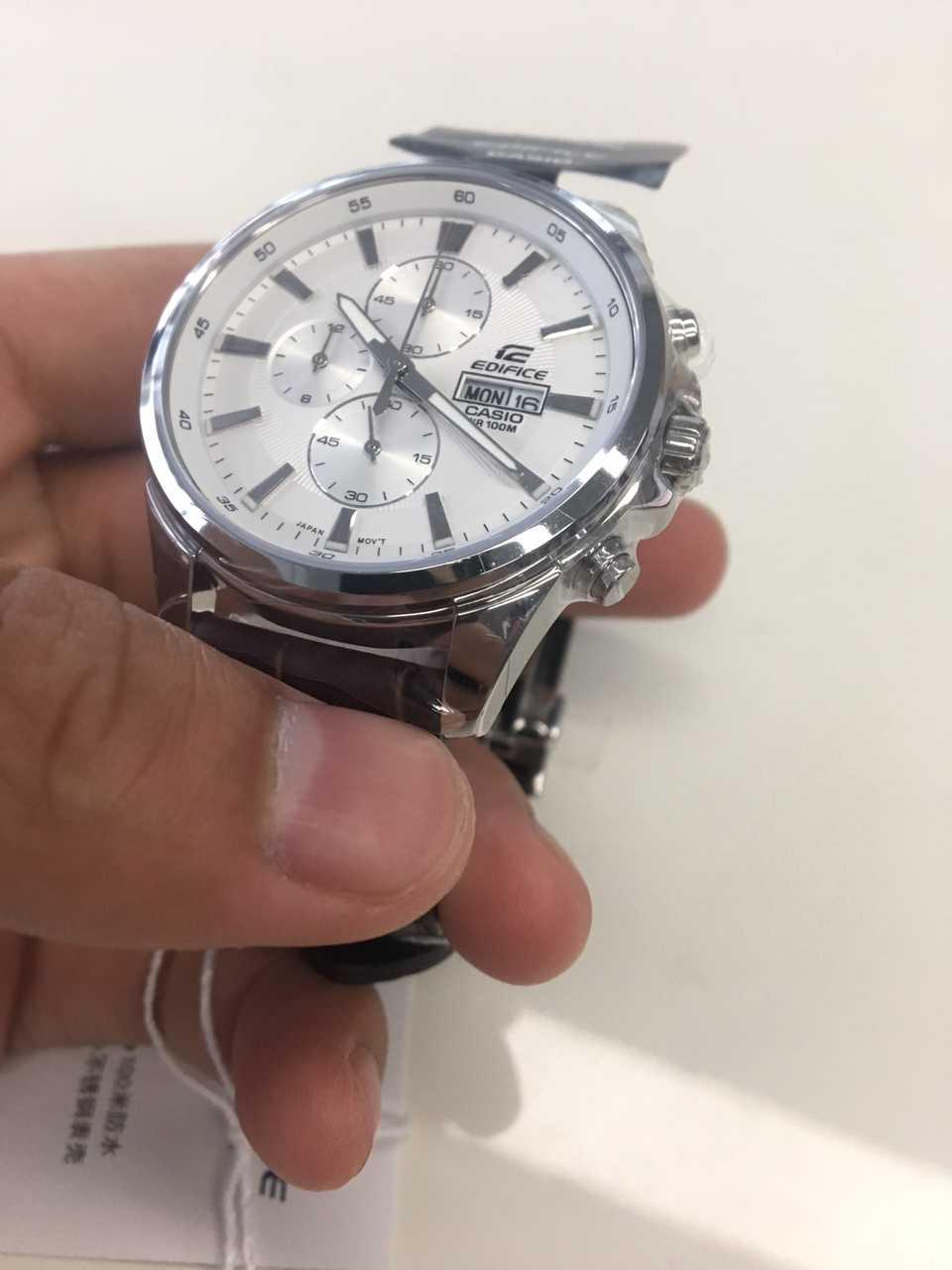 卡西欧EFB-509L-7AVUPR手表【表友晒单作业】还是可以...