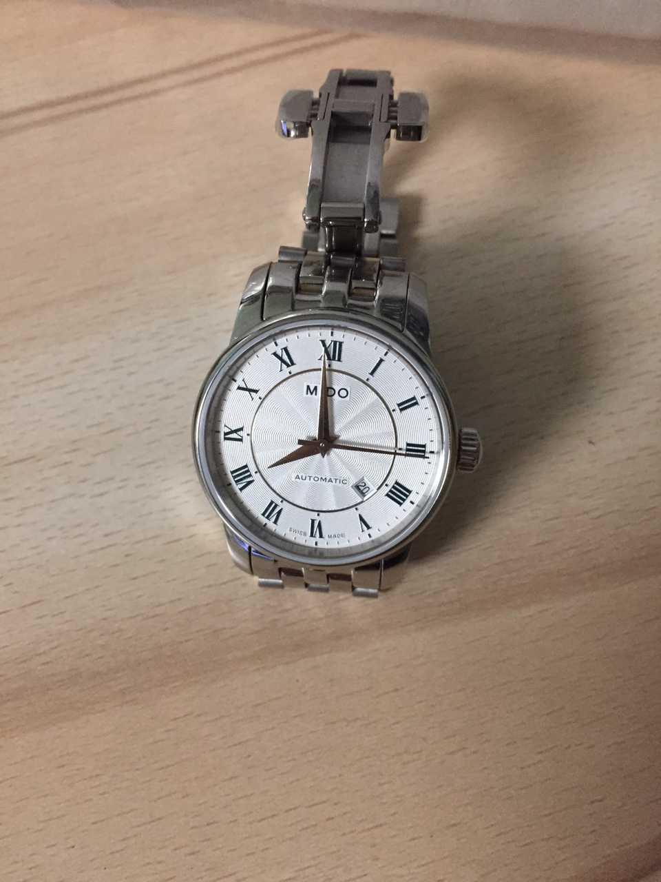 美度M7600.4.21.1手表【表友晒单作业】跟老公开玩...