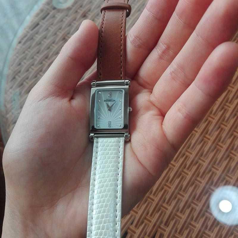 赫柏林COF.17048/59L手表【表友晒单作业】很喜欢哦,...