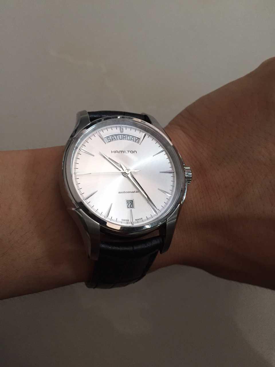 汉米尔顿H32505511手表【表友晒单作业】首先对客服...