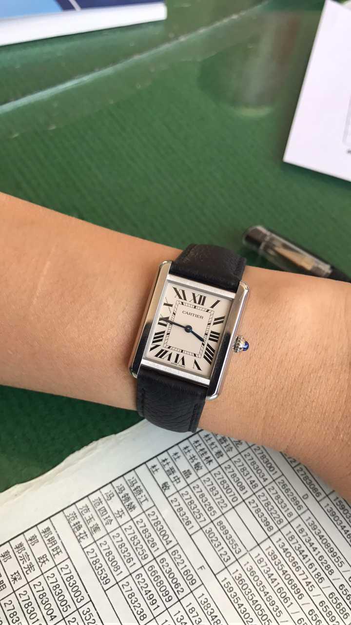 卡地亚WSTA0030手表【表友晒单作业】挺好看的...