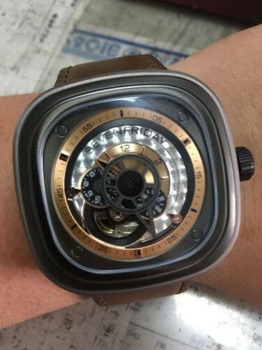 SevenFridayP2-1手表【表友晒单作业】这表戴了有...