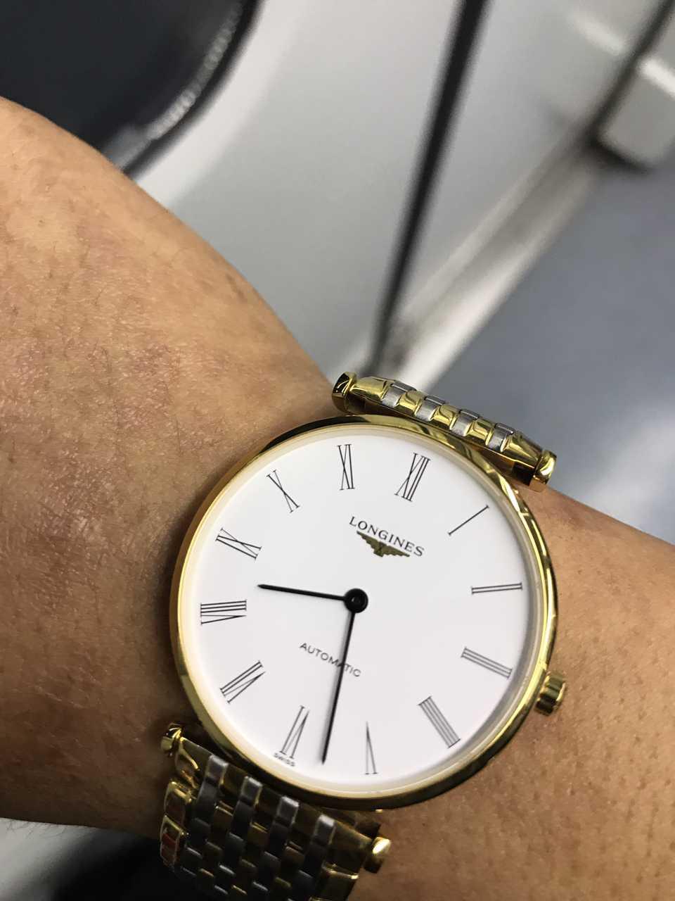 浪琴L4.908.2.11.7手表【表友晒单作业】万表网值得...