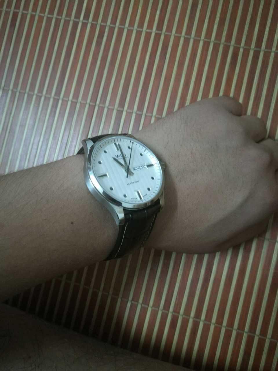 美度M005.430.16.031.80手表【表友晒单作业】手表收到了...