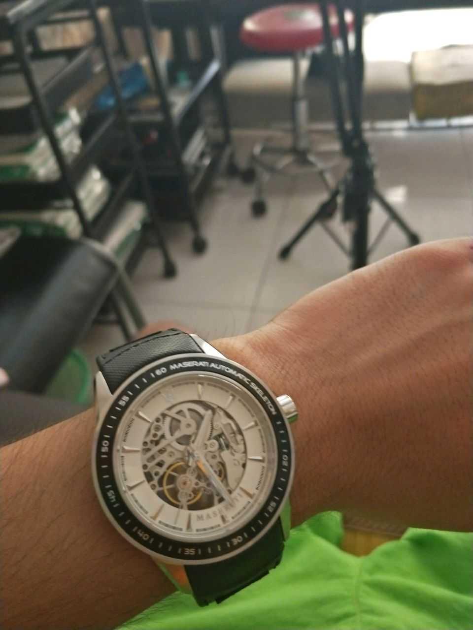 玛莎拉蒂R8821110003手表【表友晒单作业】东西回来了...