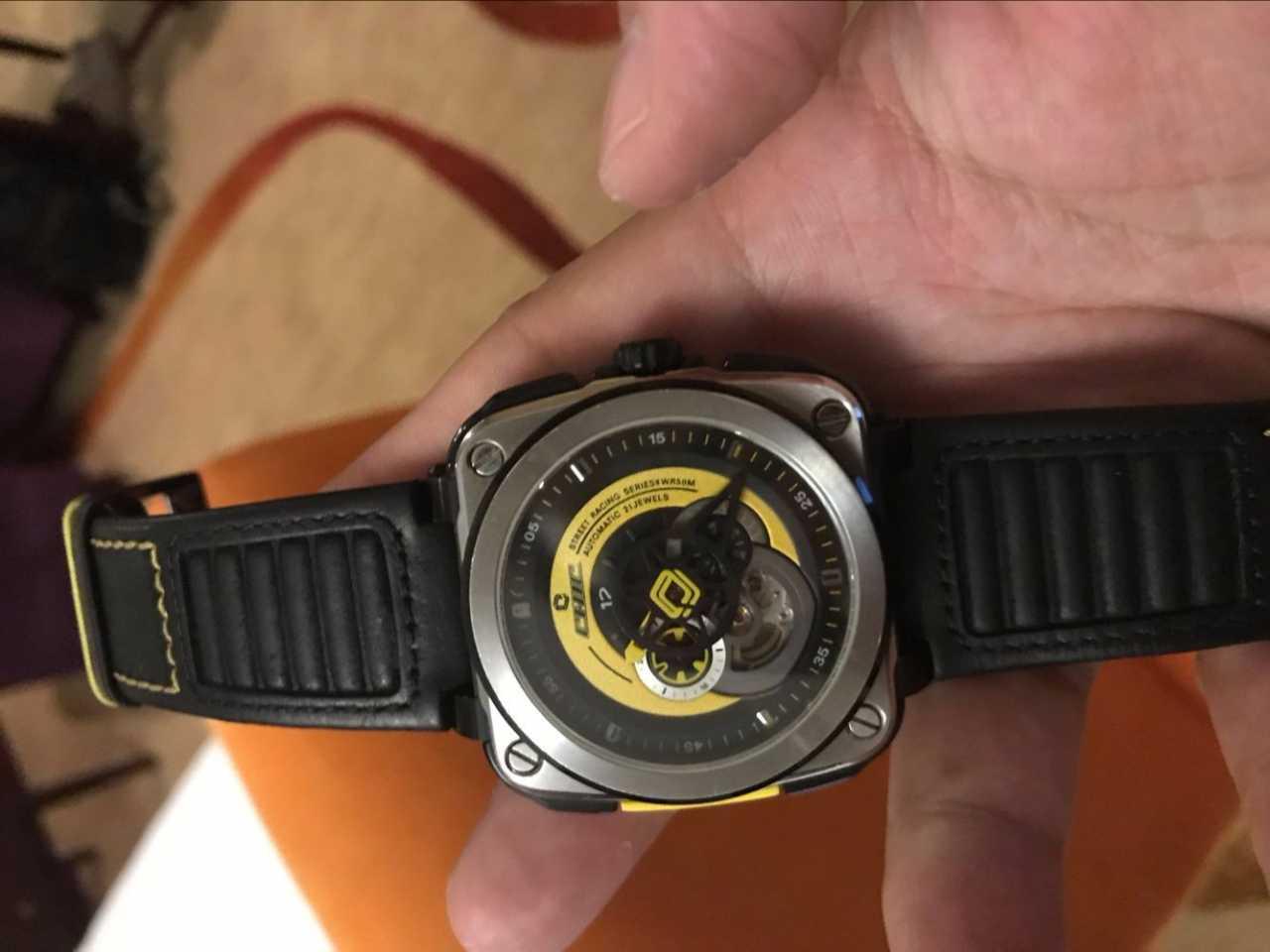 驰客CC-G-SY-001手表【表友晒单作业】手表已收到...
