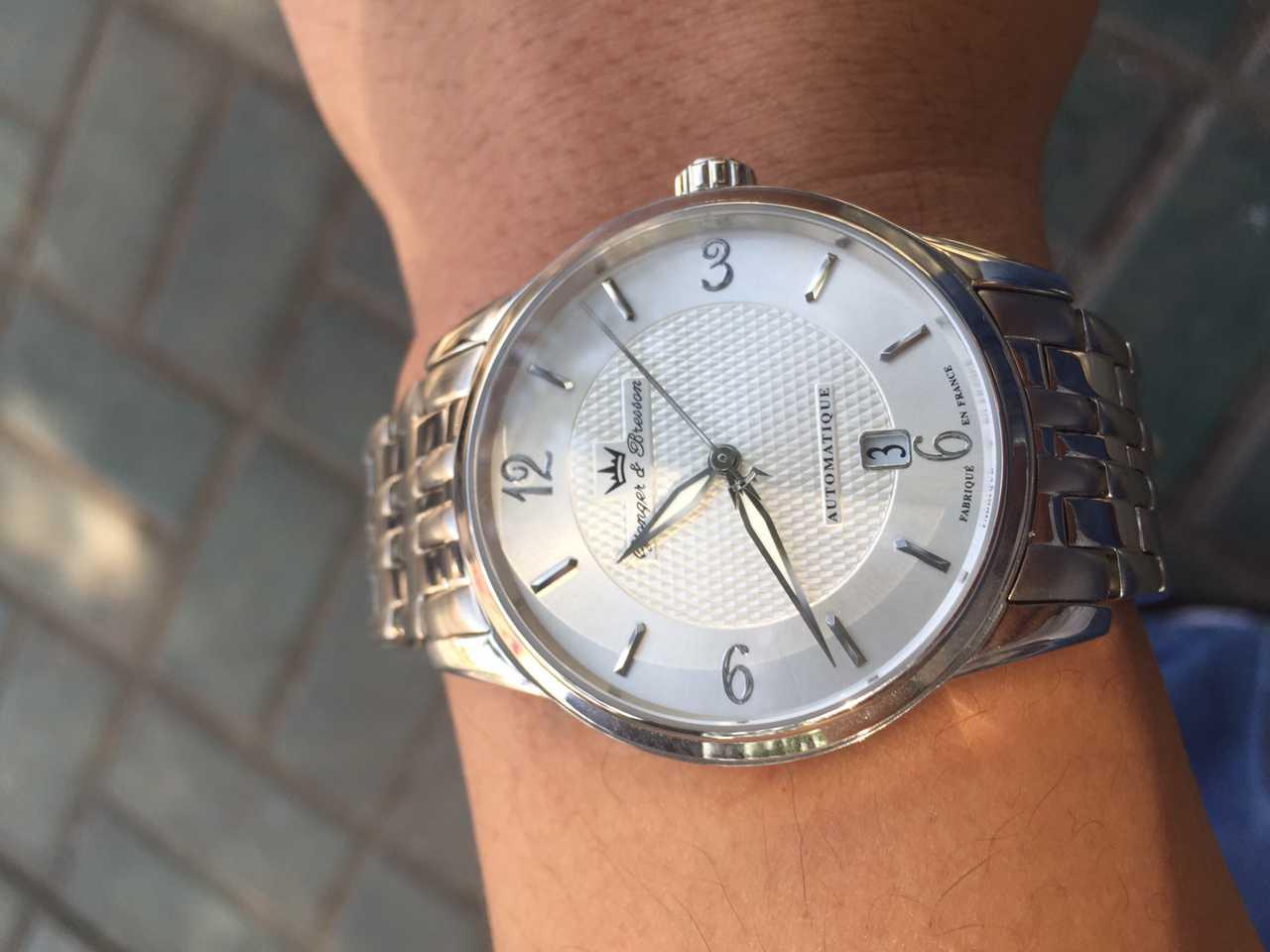 雍加毕索YBH 8343-02 M手表【表友晒单作业】这款机械表...