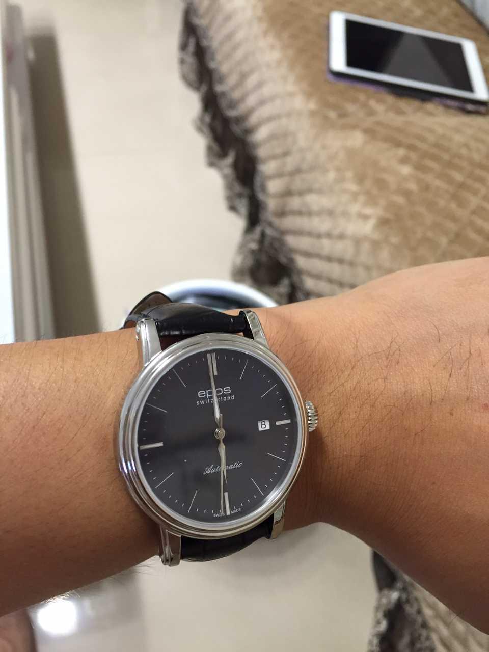 爱宝时3390.152.20.16.25手表【表友晒单作业】手表收到了...