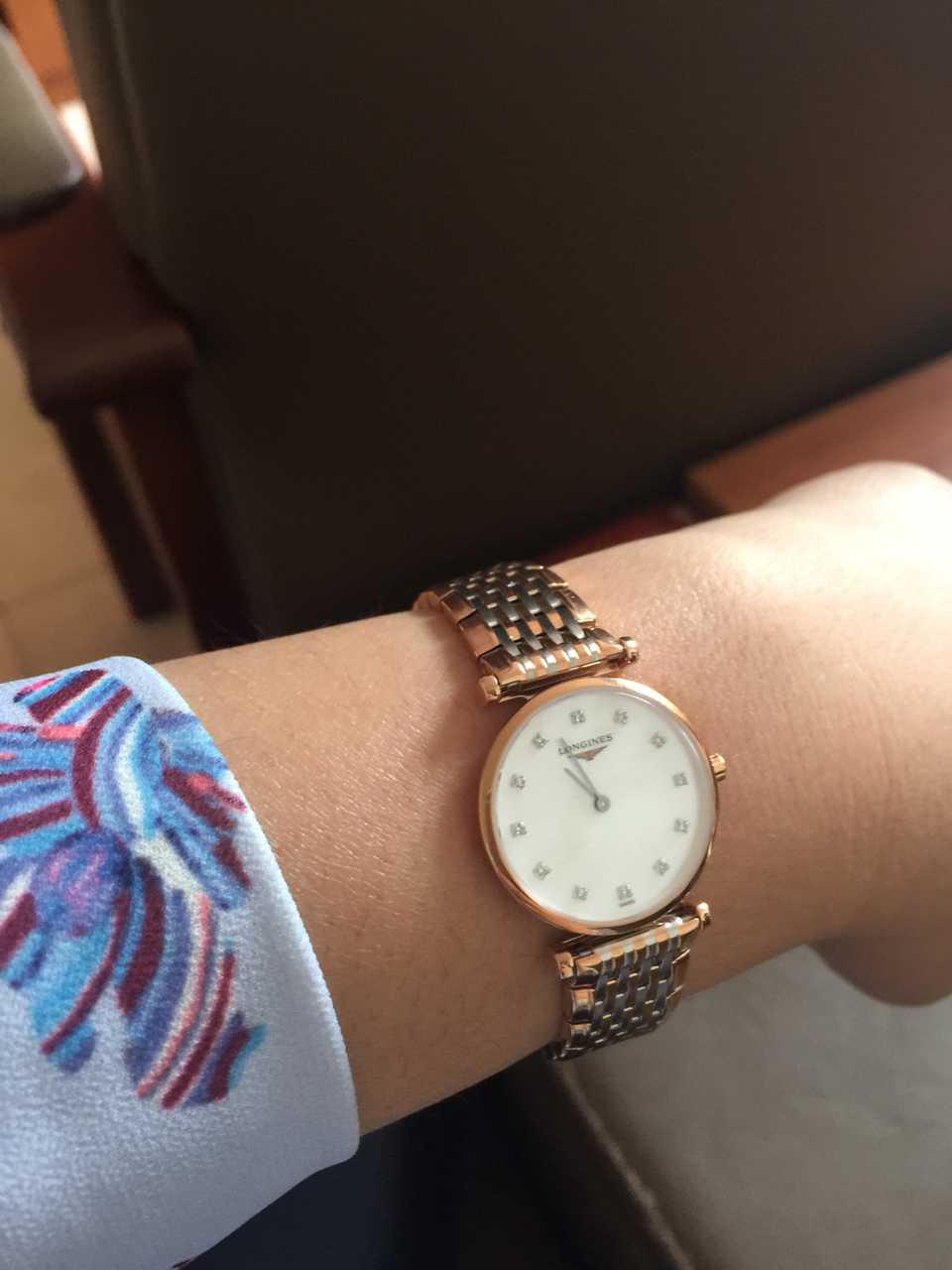 浪琴L4.209.1.97.7手表【表友晒单作业】这只表戴上...