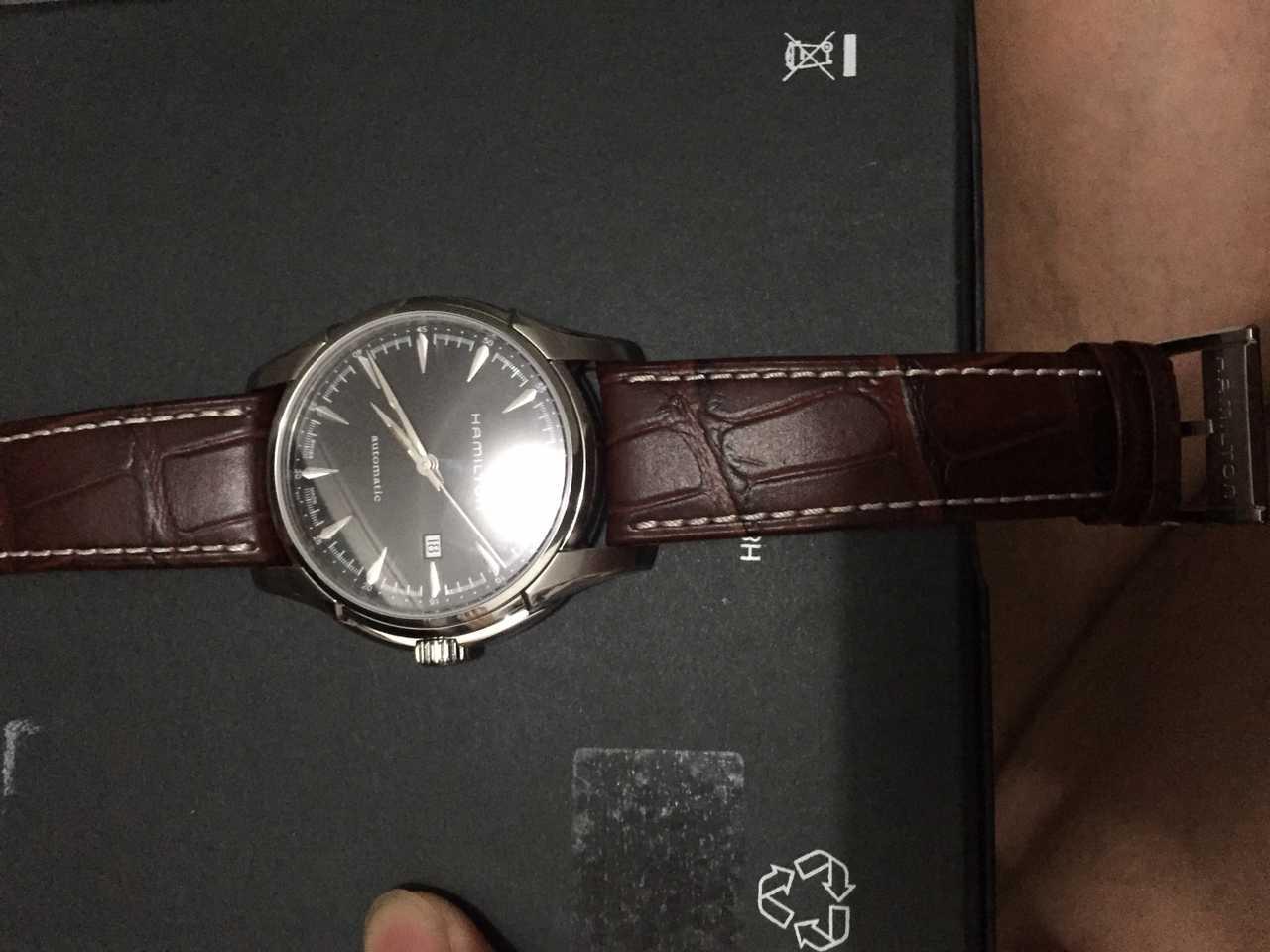 汉米尔顿H32715531手表【表友晒单作业】手表很漂亮...