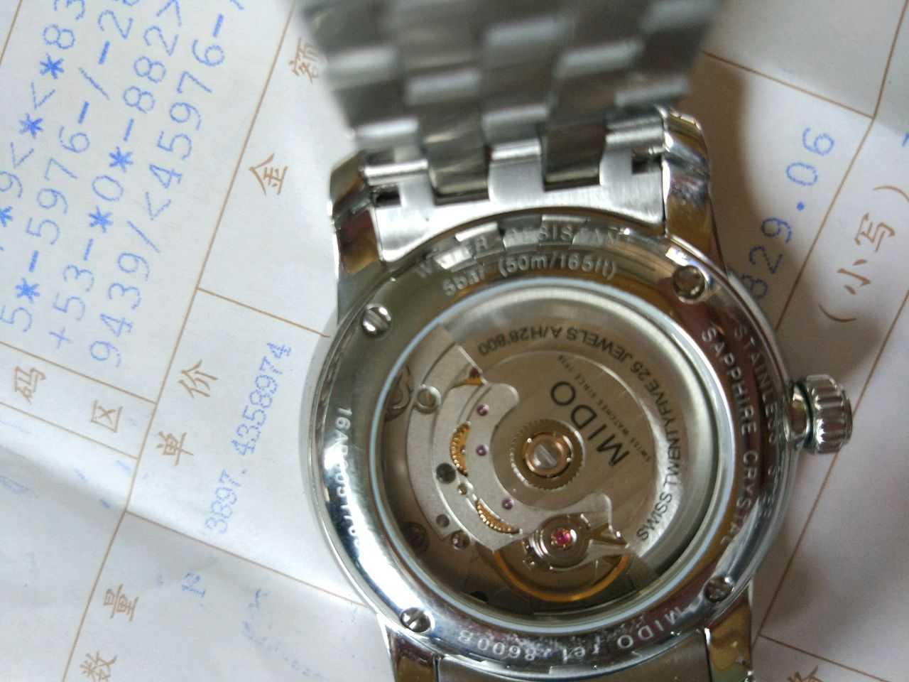 美度M8600.4.26.1手表【表友晒单作业】买了以后,...