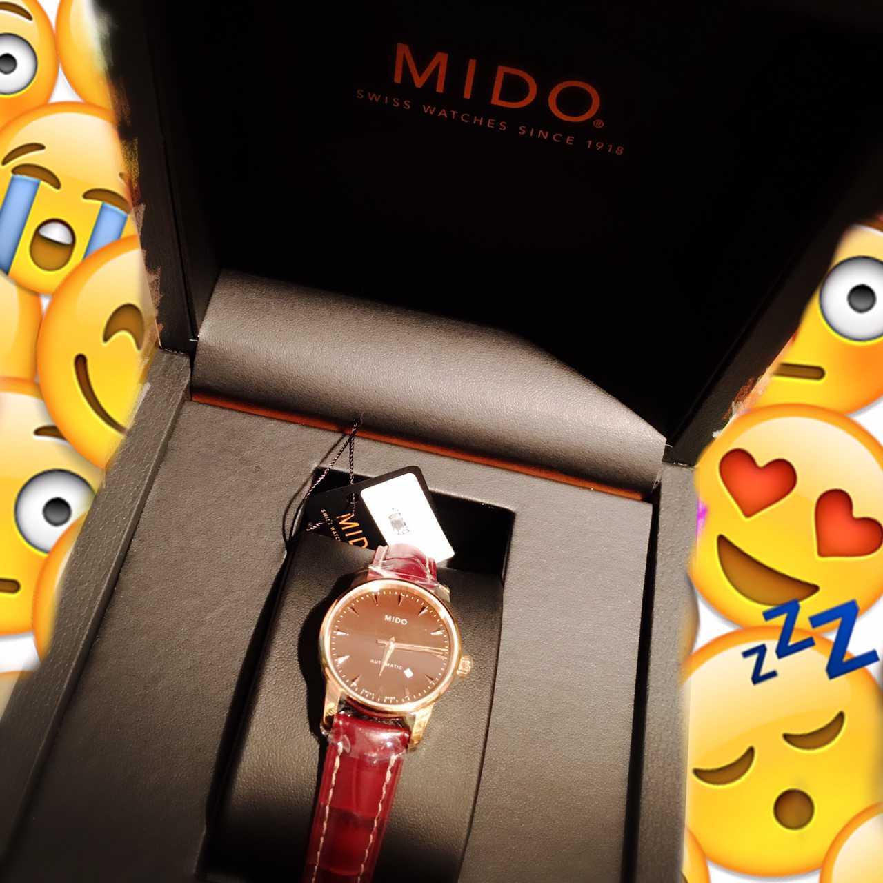 美度M7600.3.17.8手表【表友晒单作业】如愿以偿。...