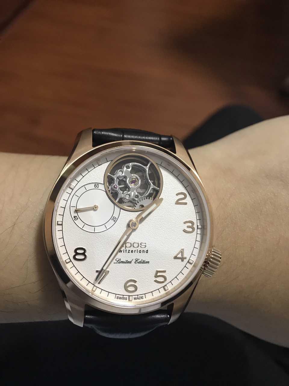 爱宝时3434.183.24.38.25手表【表友晒单作业】终于收到手...