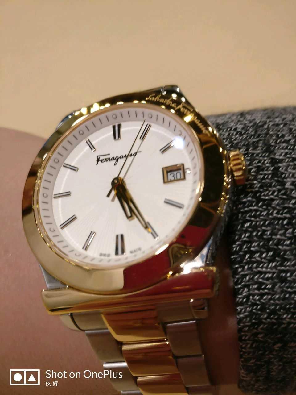 菲拉格慕FF307 0014手表【表友晒单作业】很不错,很...